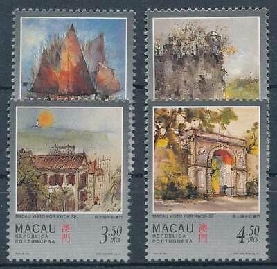 Briefmarken Macau Nr.899-902** Ansichten Zielsetzung 271881