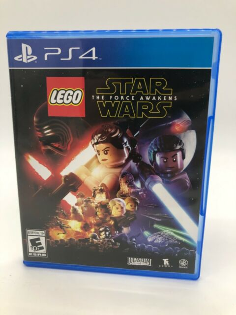 lego star wars the force awakens playstation 4 2016 ps4