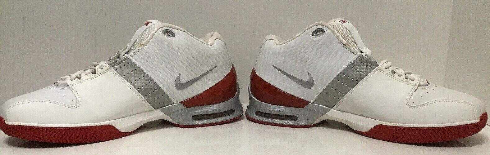 NIKE Air Speed Systems 040406 VP - White  Red - Mens shoes -Sz 14- New No Box