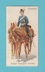 MILITARY-WILLS-RARE-SOLDIERS-OF-THE-WORLD-CARD-GERMANY-TRANSPORT-SERVIC