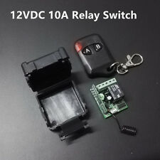 DC12V 1CH Wireless Relay Switch Module Dry Contact NC NO w/ Remote Controller