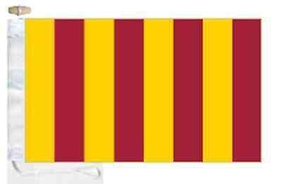 amp; Boat Region Toggled Roped Flag Northumbria Courtesy wCqXX7