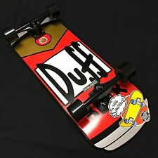 "NEW Santa Cruz Simpsons Duff Can Cruzer Complete Skateboard - 10.5"" x 27.5"""