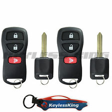 2 Remote Key Fob Set for 2005 2006 2007 2008 2009 10 11 12 13 Nissan Pathfinder