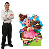 Candy Land Grandma Gooey Standee Lady Candyland Candy Theme