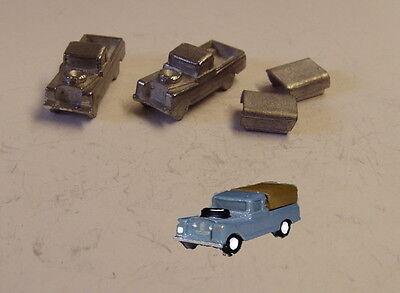 P/&D Marsh N Gauge n Scale G16 Landrover Series II casting requires painting