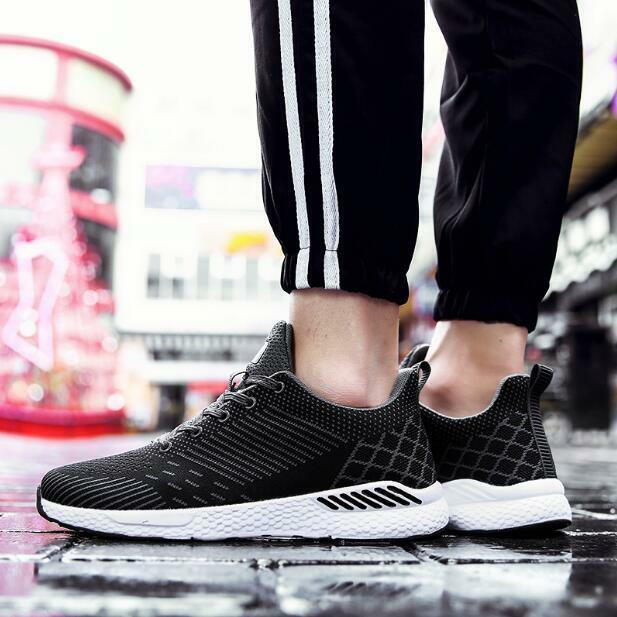 Men's Plus Size Running Breathable shoes Sports Athletic Sneakers Leisure Ths01