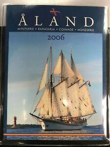 COFFRET FINLANDE REGION D'ALANDE EUROS 2006