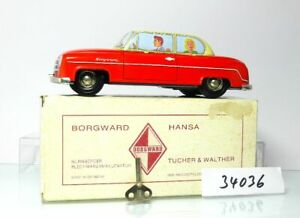 Tucher-amp-Walther-Borgward-Hansa-1500-Red-Beige-IN-Original-Box