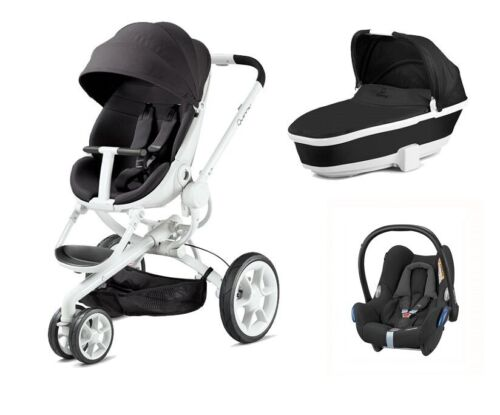 Right Side White Quinny Moodd Adapter For Maxi Cosi Car Seat Foldable