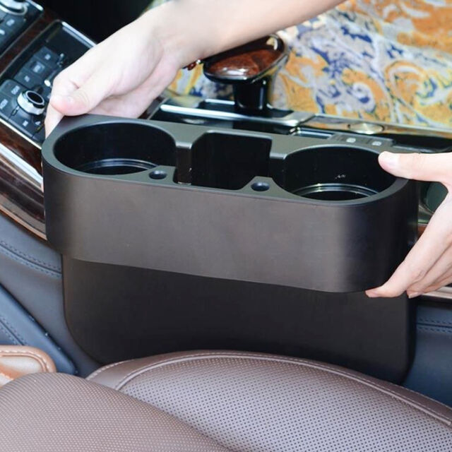New Universal Car Seat Seam Wedge Cup Drink Holder Mount