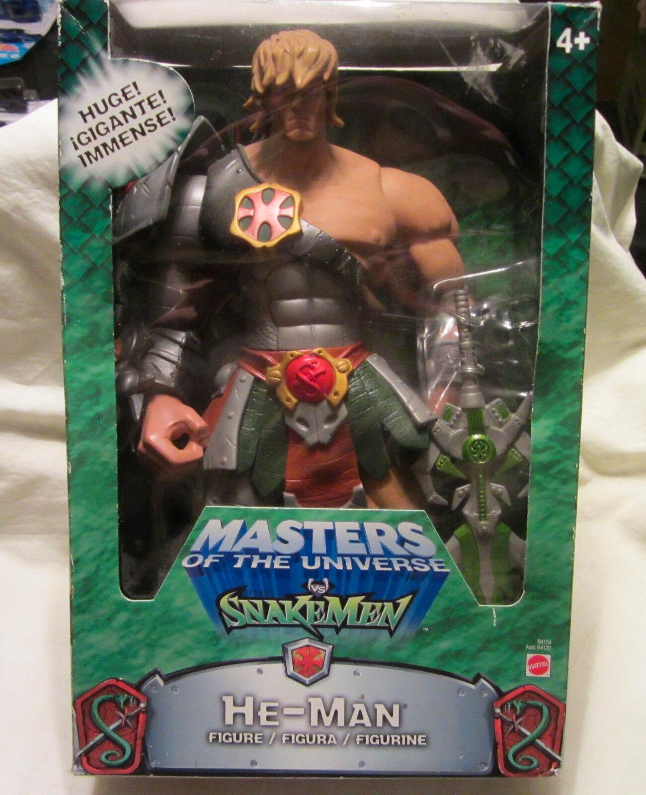 Selten Meister des Universums Vs The Snake Männer - 30.5cm He-Man Figur 2003