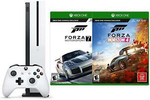 Details about Xbox One S 1 TB Console + Forza Horizon 4 + Motorsport 7 +  Wireless Controller