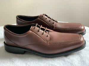 7f2d8b75d9 New Clarks Bostonian IPSWICH Men Brown Leather Lace Up Shoe Size UK ...