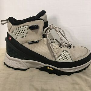 NEW-BALANCE-Men-039-s-Sz-9-9-5-D-Winter-1000-Primaloft-Vibram-Hiking-Boots-Shoes
