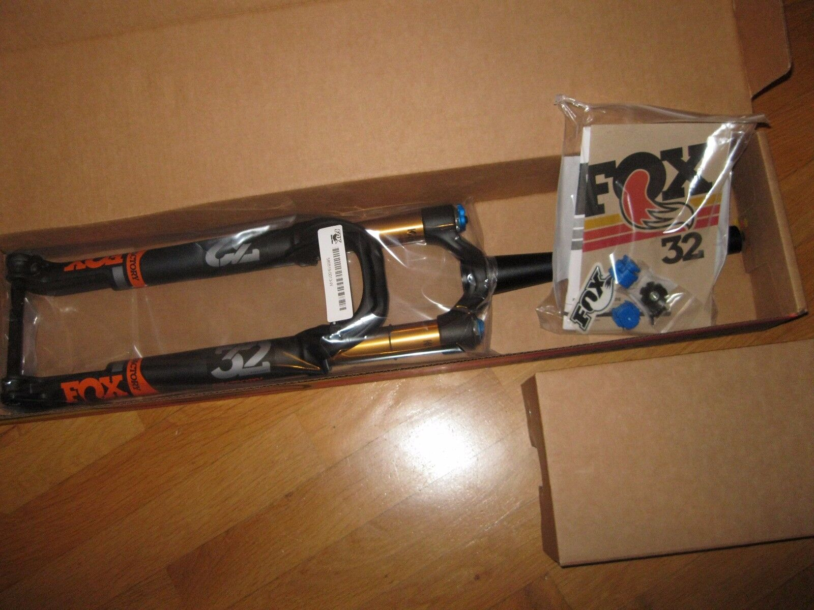 Fox Racing Shox 32 float Step cast fit4 Factory kashima Boost 15x110 650b 27.5