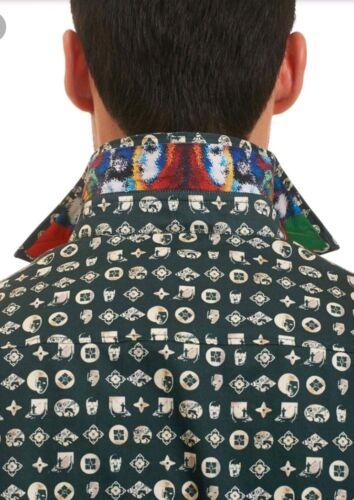 regalo Camisa Of Bosque Masks 228 City corte de Robert clásico Gran verde S de Graham 6fqWT