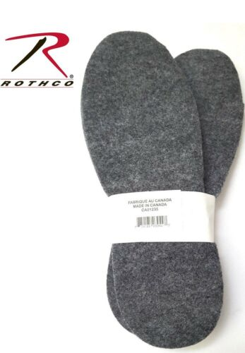 Mukluk Boot Insoles Cold Weather Heavyweight Felt Boot Insoles Rothco 6187