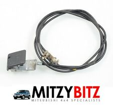 BONNET RELEASE CABLE & CATCH for MITSUBISHI SHOGUN PININ