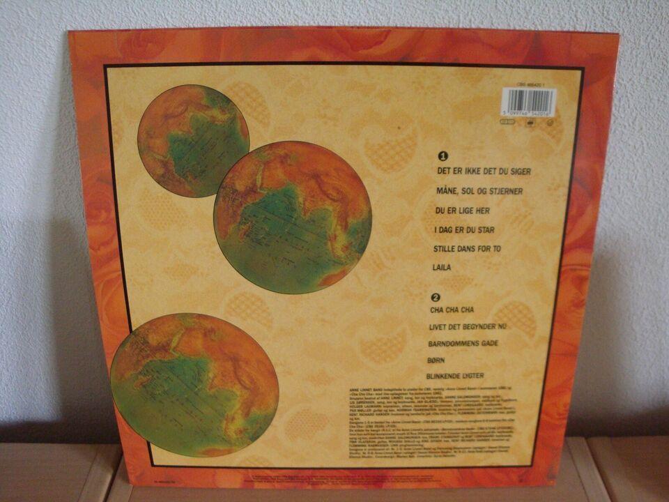 LP, Anne Linnet & Anne Linnet Band, Univers 1