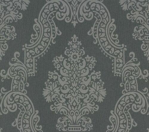 2,79€//1 Création Vliestapete 93677-2 936772 Barock grau Elegance 2/' Tapete A.S