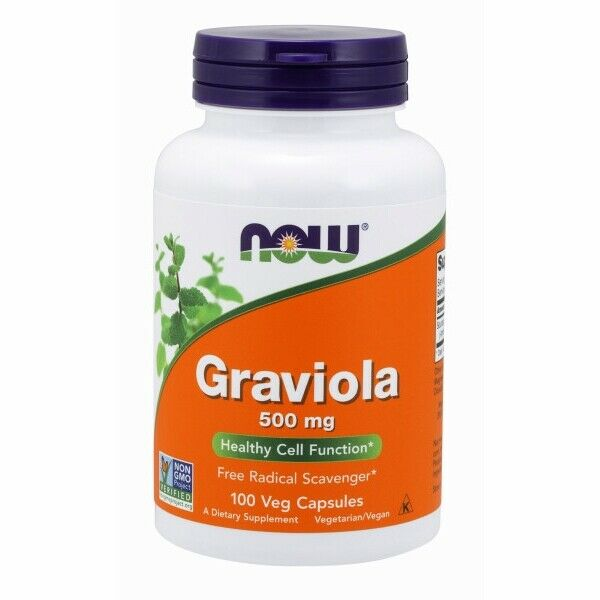 Graviola 100 Caps 500 mg by Now Foods