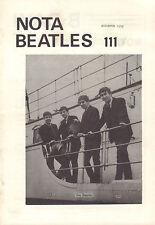 NOTA BEATLES 1979 nr. 111 - MAGAZINE DUTCH FANCLUB BEATLES