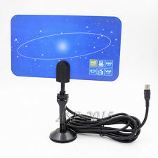 Digital Flat TV indoor HDTV VHF UHF Antenna ATSC air ,OK for Tuner PC Card IEC