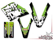 MZ MUZ RT 125 SX SM Dekore Aufkleber Pimpstar Sticker KIT Gangsta Cup DECALS