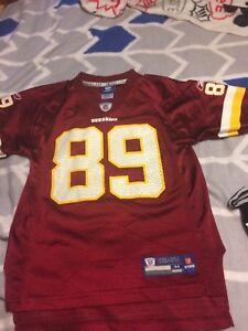 Santana Moss Washington Redskins #89 NFL Football Reebok Jersey Kids