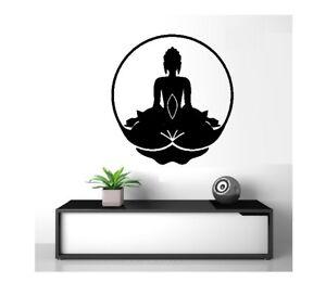 Buddha Zen 1 Yoga Wall Tattoo Wall Sticker 57 x 61 cm Wallpaper