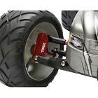Traxxas TRA3632X Red Aluminum Castor Blocks: 1/10 Slash 2wd Stampede 2wd Rustler