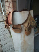 CONTRACTOR LEATHER TOOL BELT