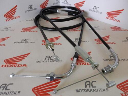B treno NUOVO Cable Wire throttle Set A B NEW ORIG HONDA GL 1000 gl1 il cavo dell/'acceleratore Set A