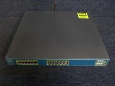 CISCO WS-C3550-24PWR-EMI   24 10/100 PWR + 2 GBIC Enhanced Multilayer Image