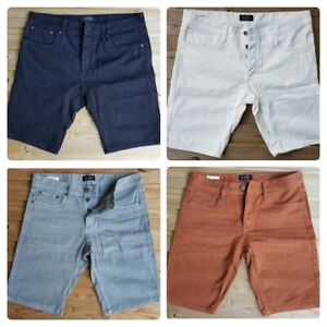 Men-s-New-JACK-amp-JONES-Denim-Shorts-Size-30-034-to-38-034-Regular-Fit-in-12-Colours