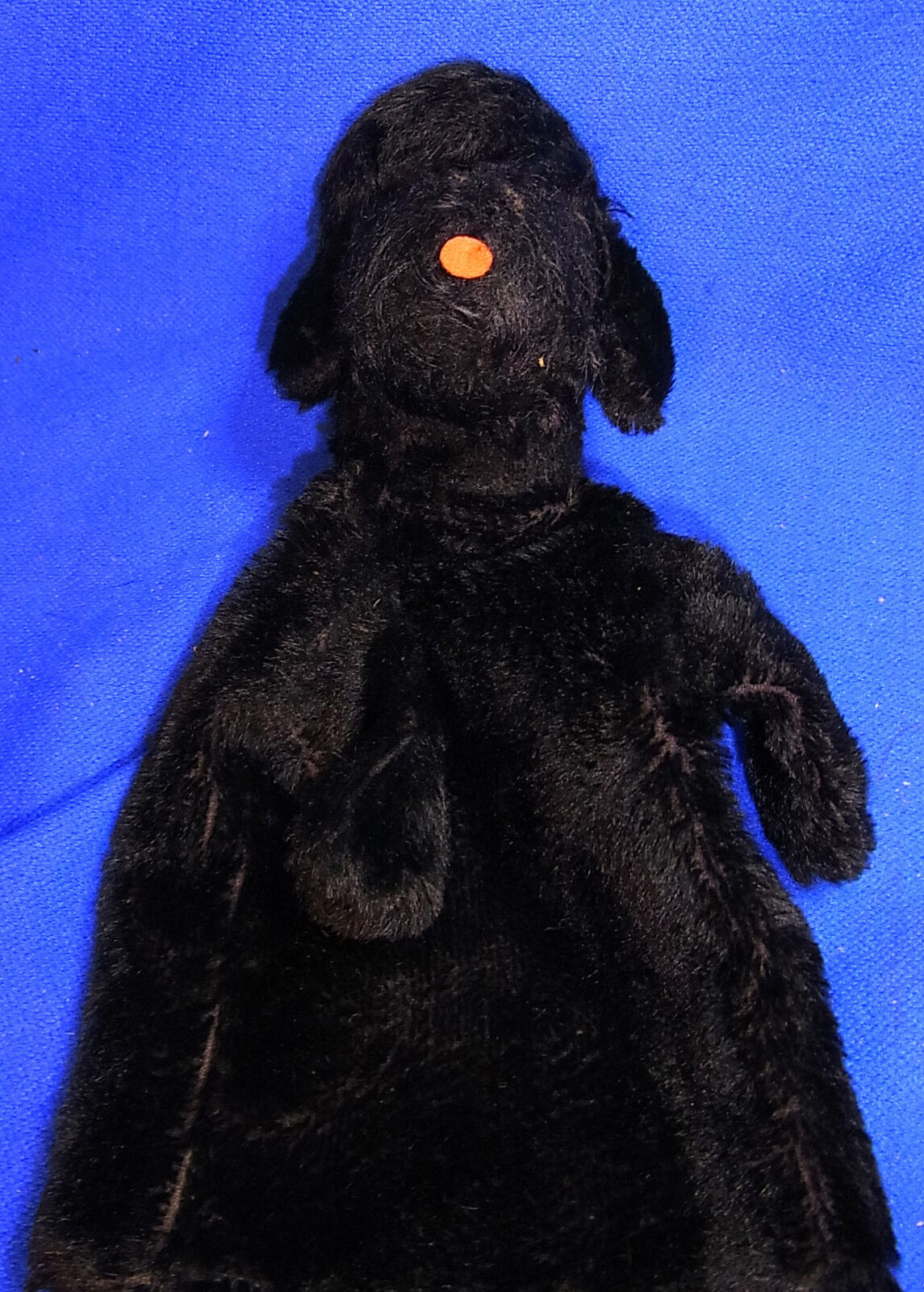 Vintage German Stuffed Animal Steiff Hand Puppet Toy Dog  BQ1