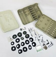 Vintage Lot ☆ NECCHI Supernova Sewing Machine Accessories Box Cams Feet + More!