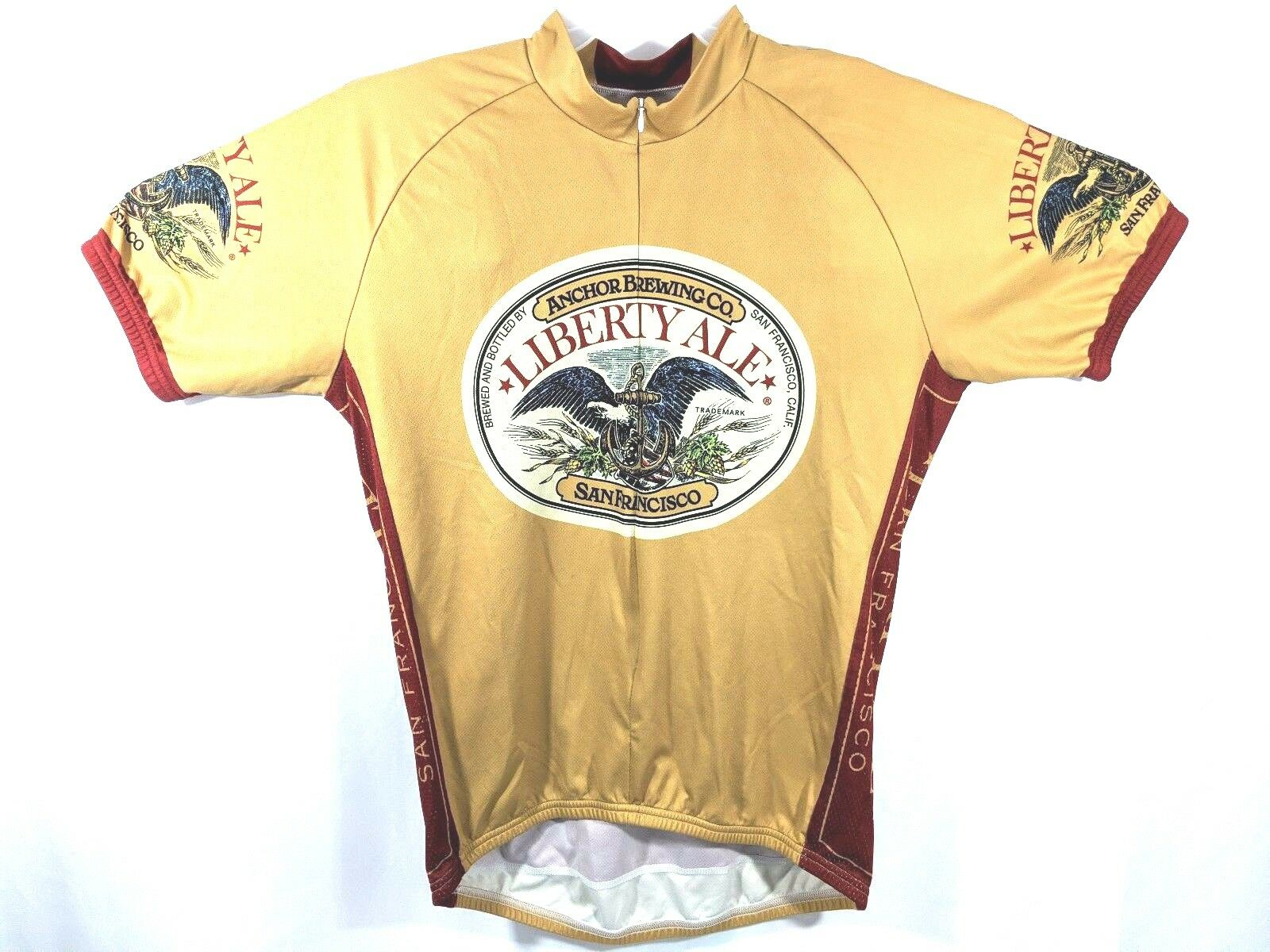 Retro Liberty Ale San Francisco Brewing Co. Cycling  Jersey Size XL  buy discounts