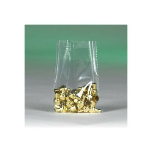 """1000//Case/"""" Clear 8/""""/"""" x 11/""""/"""" /""""Flat 2 Mil Poly Bags"""