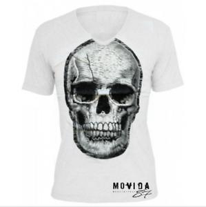 23e1fd832 Caricamento dell'immagine in corso T-Shirt-Maglia-TESCHIO-cotone-moda-uomo