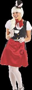 Mlle-Mesdames-Lapin-TV-Livre-Jour-Film-Carnival-Costume-Deguisement-UK-8-18