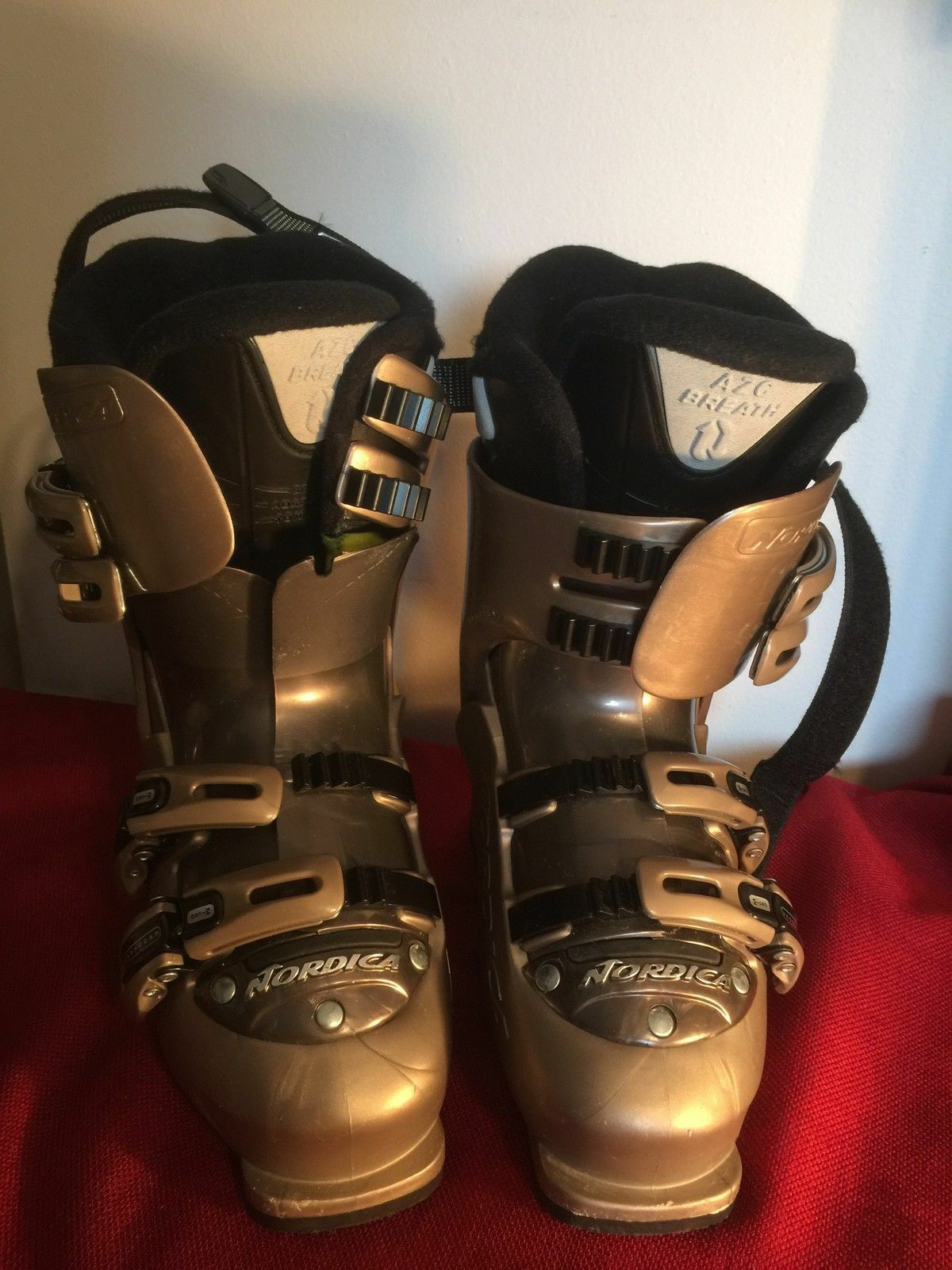 Nordica Women's Ski Boots Trend07 Size 23.5 Made in  EXCELLENT