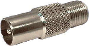 RCA-Plug-to-F-Socket-P0399