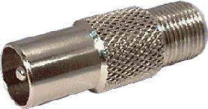 RCA-Plug-to-F-Socket-P0399