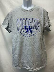 Neuf-Kentucky-Wildcats-Basketball-Hommes-Tailles-L-XL-Gris-J-America-Chemise