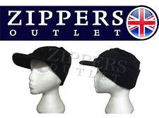 PEAK BEANIE PEAK HAT/CAP KNITTED WARM  WINTER BLACK THINSULATE one size