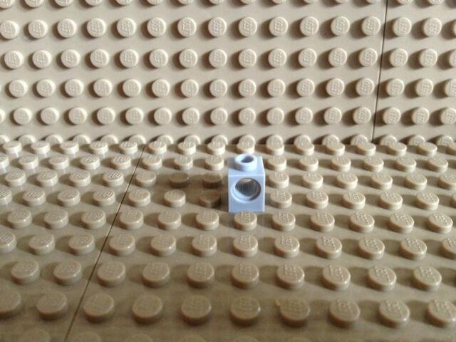 LEGO Bau- & Konstruktionsspielzeug LEGO 20 x Technik Technic Lochstein Lochbalken 1x1 schwarz black hole brick 6541