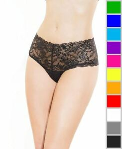 bc7219b9d Image is loading New-Coquette-225-Stretch-And-Lace-High-Waisted-