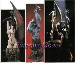 Devilman None Scale Bust Devilman & Devilman lady & Base Unpainted ResinKit